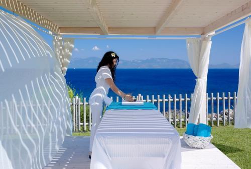 dimitra beach outdoor massage pavilion5